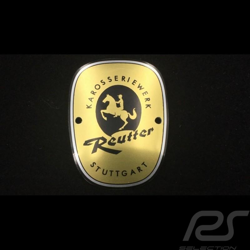 Porsche 356 body plate Reutter 1961 - 1963