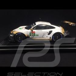 Porsche 911 RSR typ 991 24h Le Mans 2019 n° 91 Porsche GT Team 1/12 Spark WAP0231480LRSR