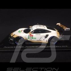 Porsche 911 RSR typ 991 n° 92 Porsche GT Team 24h Le Mans 2019 1/43 Spark S7937