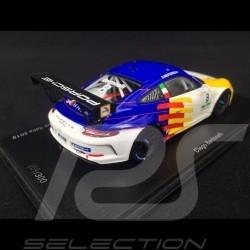 Porsche 911 GT3 Cup type 991 n° 8 Dinamic Motorsport Winner Monza Porsche Carrera Cup 2019 1/43 Spark SI009