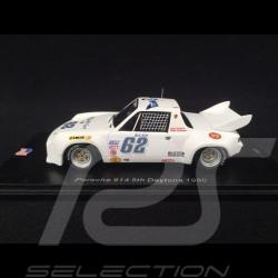 Porsche 914 /6 n° 62 Daytona 1980 1/43 Spark US058