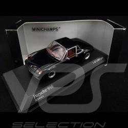Porsche 916 1971 noire 1/43 Minichamps 400066060