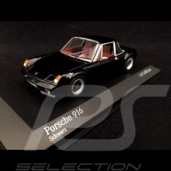 Porsche 916 1971 black 1/43 Minichamps 400066060
