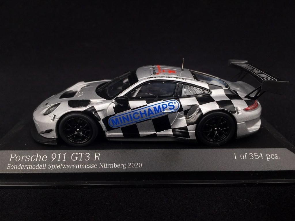 Porsche 911 Gt3 R Type 991 Ph 2 Limited Edition Nuremberg Toy Fair 2020 1 43 Minichamps 413206003 Selection Rs