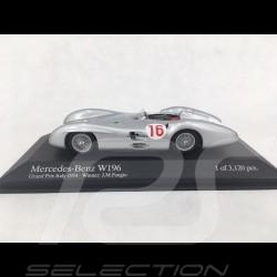 Mercedes-Benz F1 W196 Streamliner n° 16 Vainqueur Winner Sieger GP Italie 1954 1/43 Minichamps 432543016