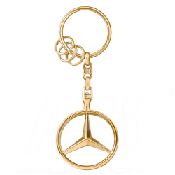 Porte-clés keyring Schlüsselanhänger Mercedes Brussels gold or Mercedes-Benz B66953741