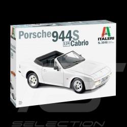 Maquette Porsche 944 S Cabriolet 1989 1/24 Italeri 3646 Kit Modellbausatz