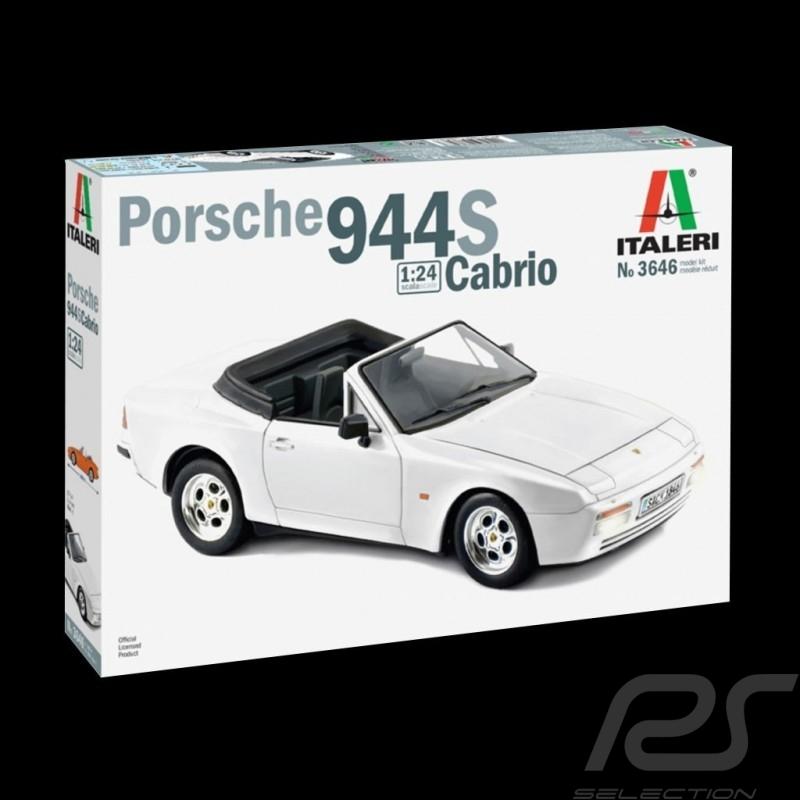 Kit Porsche 944 S Cabriolet 1989 1/24 Italeri 3646