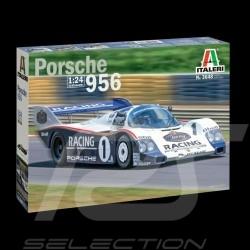 Maquette Porsche 956 24h Le Mans 1982 Rothmans 1/24 Italeri 3648 kit modellbausatz