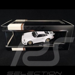 Porsche 911 Turbo type 930 RWB Rauh-Welt Begriff White 1/43 Ixo MOC207