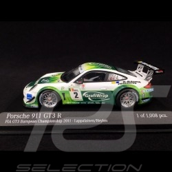 Porsche 911 type 997 Gt3 R n° 2 Prospeed Competition 1/43 Minichamps 400118902