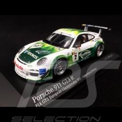 Porsche 911 type 997 Gt3 R n° 2 Prospeed Competition 1/43 Minichamps 400118902