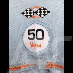 Gulf Racing Steve McQueen Le Mans n° 50 Polo Gulf blue - men