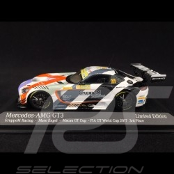 Mercedes-Benz AMG GT-3 n° 999 GruppeM Racing FIA GT World Cup 2017 1/43 Minichamps 447173999