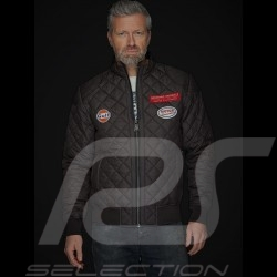 Veste jacket Jacke  Gulf blouson matelassé Noir Black Schwarz homme