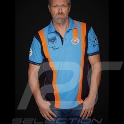 Gulf Polo Steve McQueen Le Mans Cobalt blue - men