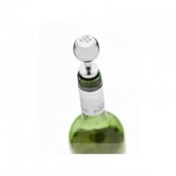 Bouchon à vin wine stopper weinstopper Mercedes façon pommeau de levier de vitesse acier argent shift knob steel silver schaltkn