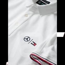 Mercedes Polo shirt Tommy Hilfiger White Mercedes-Benz B66958810 - men