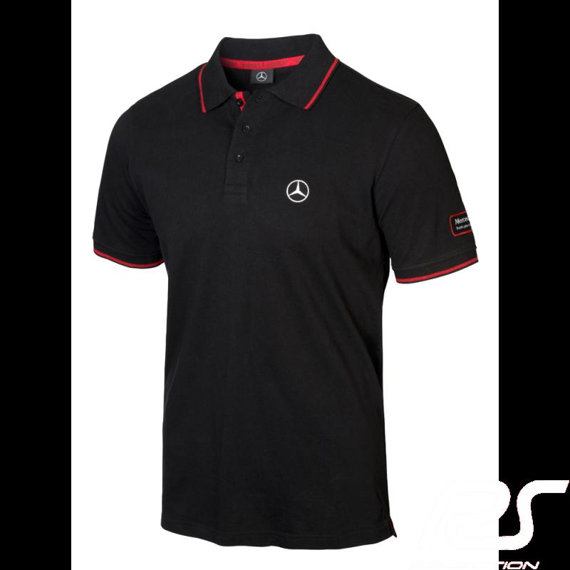 Mercedes Polo shirt Actros Black Mercedes-Benz B67871245 - men