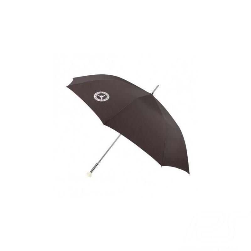 Parapluie umbrella gästeschirm Mercedes 300 SL grande taille polyester marron large size polyester brown großes polyester braun