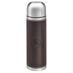 Thermos flask Mercedes Classic isotherme acier étui cuir Classic isothermal steel leather case thermoskanne Classic Thermo-Isoli