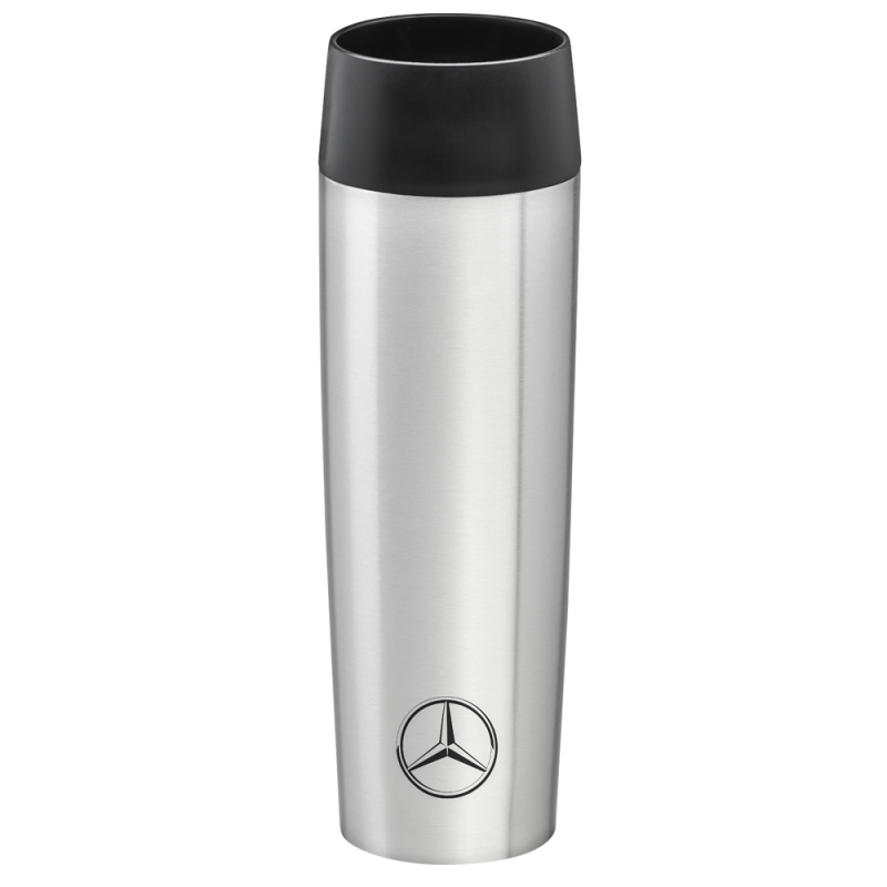 Thermos Mercedes insulated cup thermosolierte steel silver gobelet isotherme Emsa acier argent tasse stahl silber Mercedes-Benz