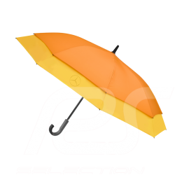 Parapluie umbrella stockschirm Mercedes stretch grande taille large size polyester jaune et orange groß gelb und Mercedes-Benz B
