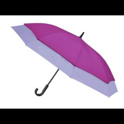 Parapluie umbrella stockschirm Mercedes stretch grande taille polyester violet et lilas purple and lilac lila Mercedes-Benz B669