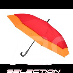 Parapluie umbrella Mercedes stretch grande taille polyester large size rouge et orange red and rot und groß Mercedes-Benz B66954