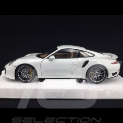 Porsche 911 typ 991 Turbo S 2013 weiß 1/18 Minichamps 113062321