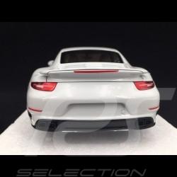 Porsche 911 type 991 Turbo S 2013 blanche 1/18 Minichamps 113062321