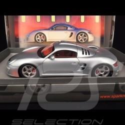 Porsche RUF CTR 3 Präsentation2007 silber 1/18 Spark 18S020