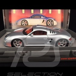 Porsche RUF CTR 3 Presentation 2007 silver 1/18 Spark 18S020