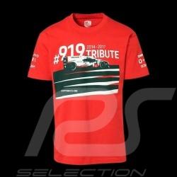 Porsche T-shirt 919 Tribute 2014-2017 Red WAP852J - unisex