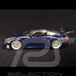 Porsche 911 GT3 RSR type 996 2004 blue 1/18 Minichamps 100046404