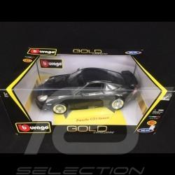 Porsche 911 GT3 typ 996 1997 schwarz 1/18 Burago 12040