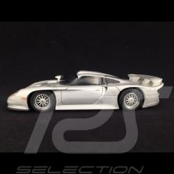Porsche 911 GT1 1997 silver 1/18 Ut Models 27846