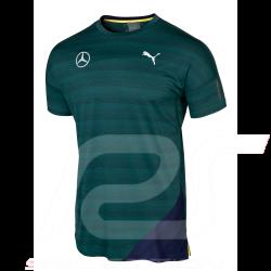 Mercedes T-shirt Puma Performance Green Mercedes-Benz B66958774 - men
