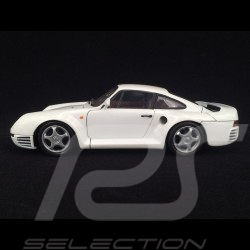 Porsche 959 1983 pearly white 1/18 Exoto Motorbox 46268