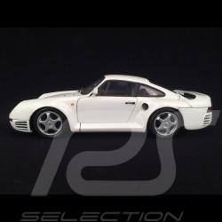 Porsche 959 1983 Perlweiß 1/18 Exoto Motorbox 46268