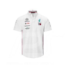 Mercedes Shirt AMG Motorsport Short sleeves White Mercedes-Benz B67996505 - men