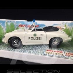 Porsche 356 Cabriolet 1964 Polizei 1/18 Burago 3331