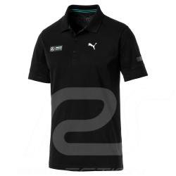 Mercedes Polo shirt AMG Motorsport Puma Black Mercedes-Benz B67996294 - men