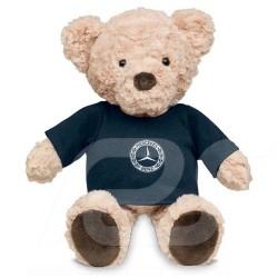 Ours en peluche Teddy bear Teddybär Mercedes Carl T-shirt logo Classic polyester beige / bleu blue blau Mercedes-Benz B66041559