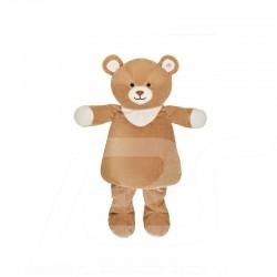 Bouillotte Hot water bottle Wärmflasche Mercedes ours en peluche teddy bear Teddybär Carl polyester beige Mercedes-Benz B6695369