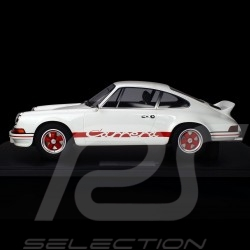 Porsche 911 Carrera RS 2.7 Lightweight 1972 White / Red 1/8 Minichamps 800653005