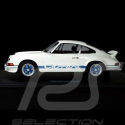 Porsche 911 Carrera RS 2.7 Lightweight 1972 White / Blue 1/8 Minichamps 800653007