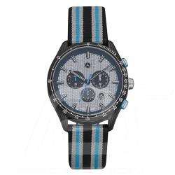 Mercedes sport watch man chronograph nylon strap carbon dial Mercedes-Benz B67995428