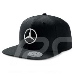 Casquette man cap herren kappe Mercedes homme Snapback visière plate polyacrylique noire flat visor polyacrylic black flatbrim p