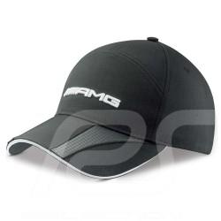 Casquette Mercedes cap polyester black kappe polyester schwarz AMG polyester noire Mercedes-Benz B66952706
